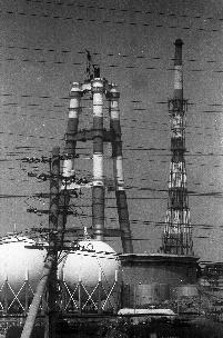 100メートル以上の高煙突の建設