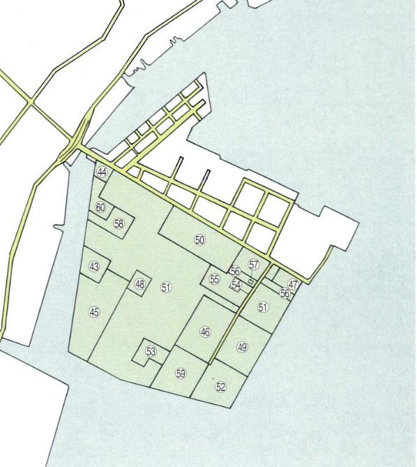 第3コンビナート地区配置図